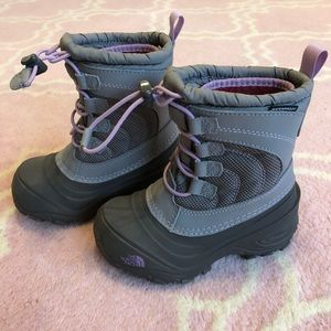 Girls 10T North Face Boots